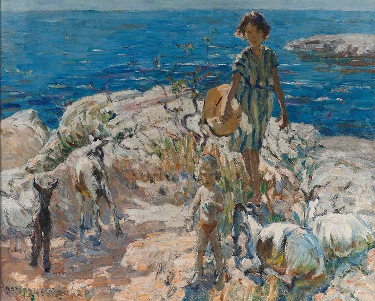 A Summer Walk by Dorothea Sharp