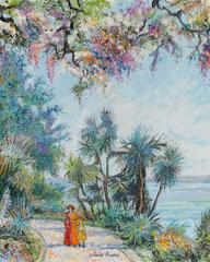 Corinne et Rachel a Golfe-Juan by H. Claude Pissarro