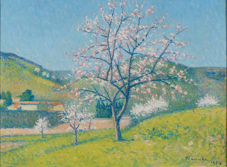 Arbres en Fleur à Alet-les-Bains by Achille Laugé