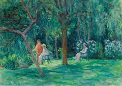 Dans le Jardin à Sorel-Moussel