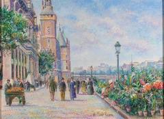 Marche aux Fleurs (Flower Market)