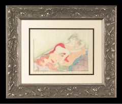 Japanese Shunga, Couple Intertwined