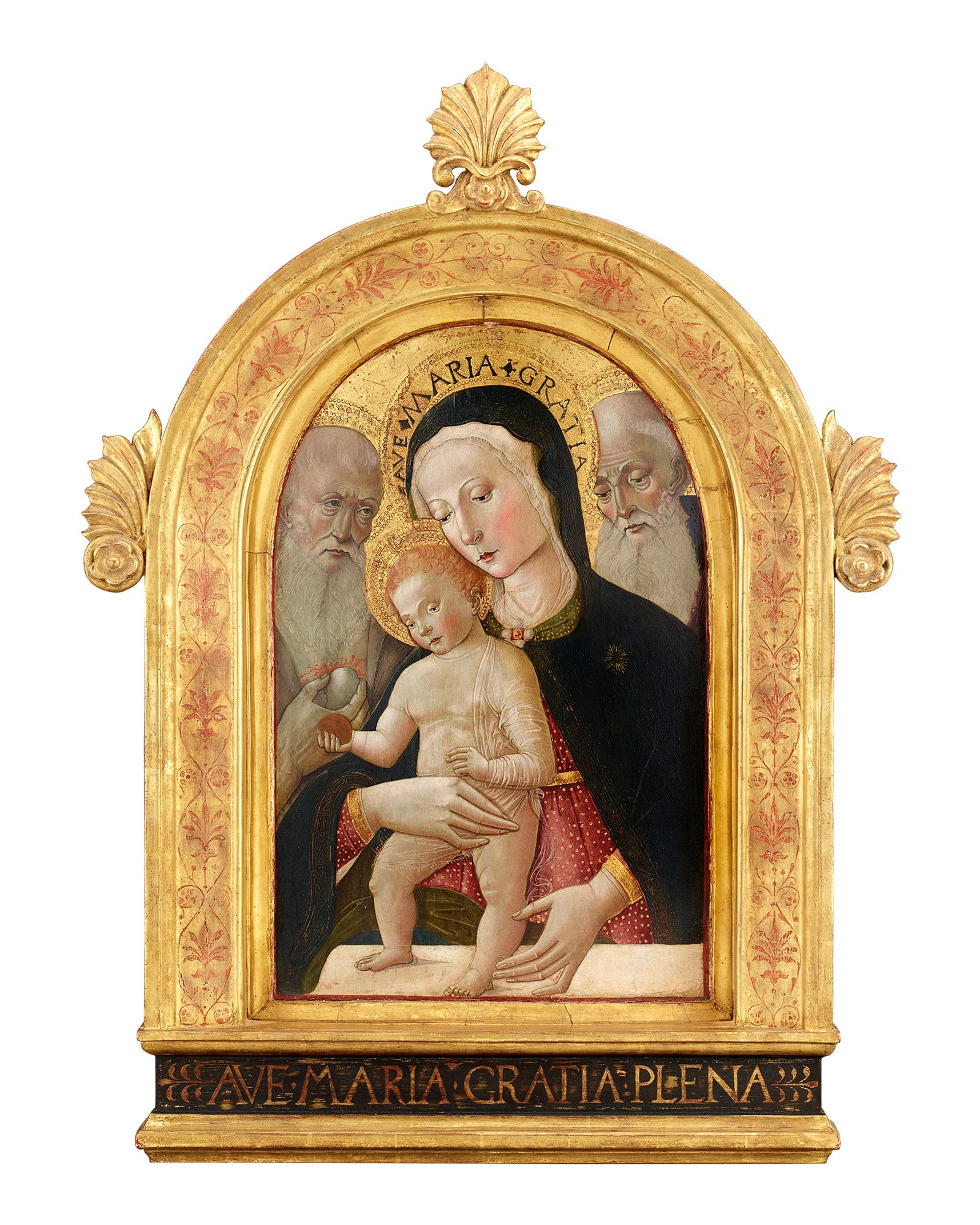 Virgin and Child with Saints Jerome and Bernard by Giovanni