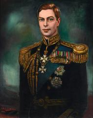 Portrait of King George VI by Federico Beltrán-Masses
