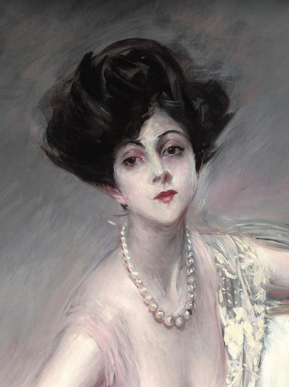 Giovanni Boldini Portrait Of Rita De Acosta Lydig