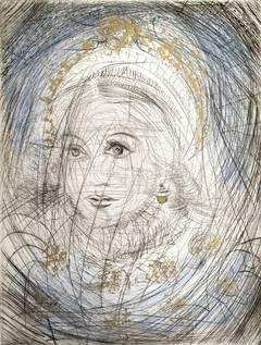 The Night of Walpurgis Faust (Goethe) Series: Portrait of Marguerite