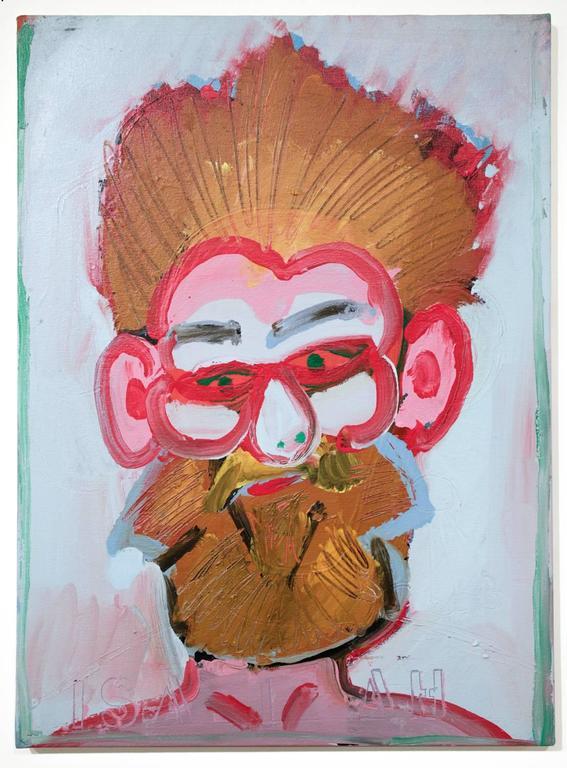 Isaiah Zagar - Untitled Self-Portrait III 1