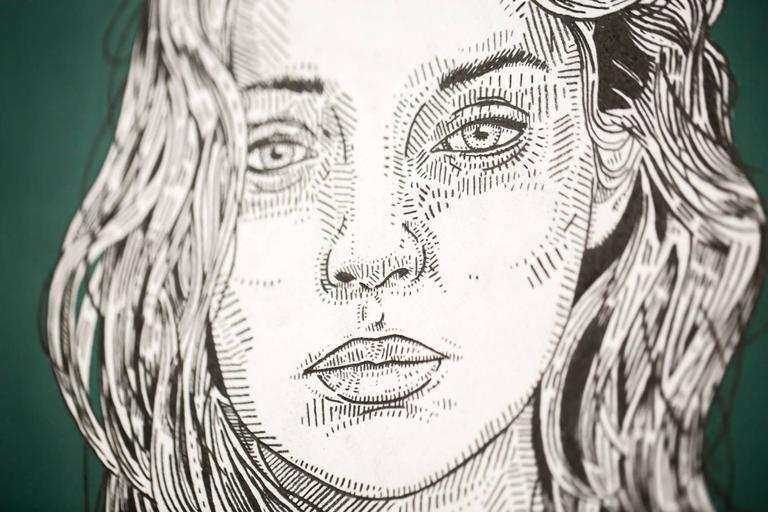 she (sage) - Contemporary Art by Jason Andrew Turner
