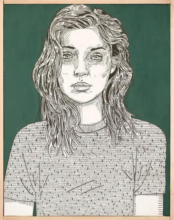 Jason Andrew Turner Portrait - she (sage)