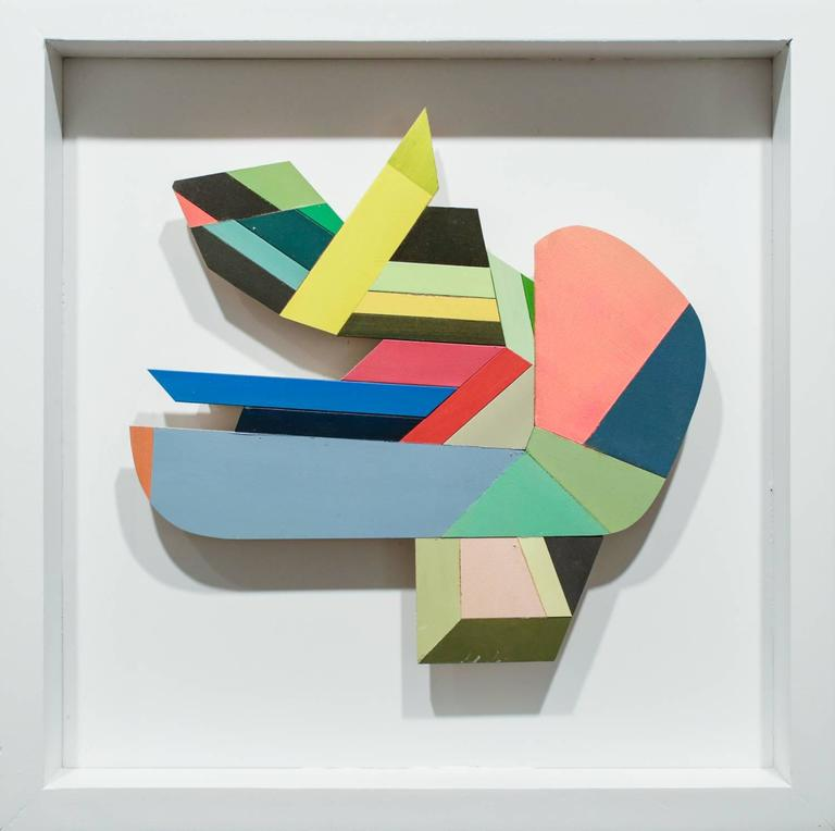 Joey Slaughter Abstract Painting - Hush Hush #3