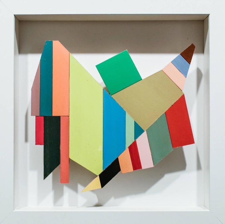 Joey Slaughter Abstract Sculpture - Hush Hush #6