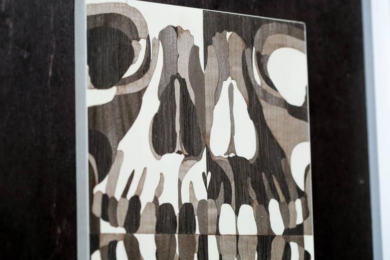Human Skull - Sculpture by Matt R Phillips