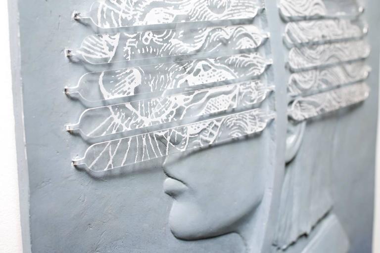 Gold Lion / Art Star - Sculpture by Jedediah Morfit