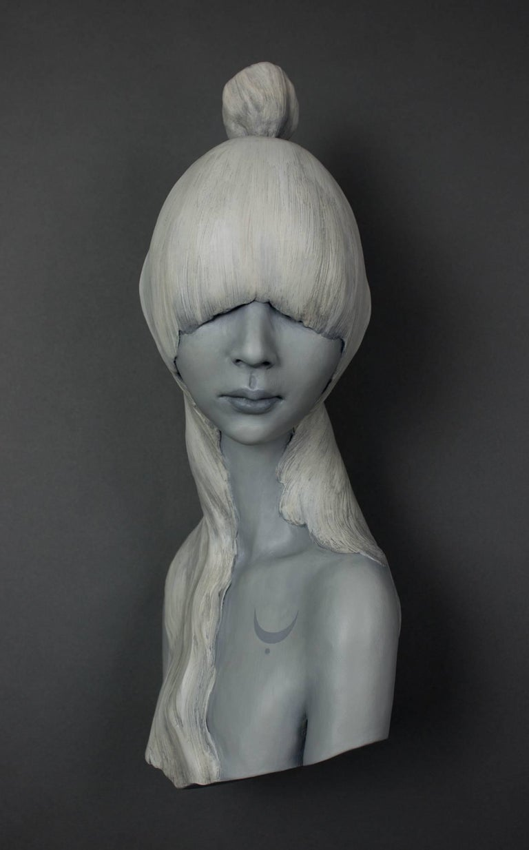Gosia Figurative Sculpture - Moon