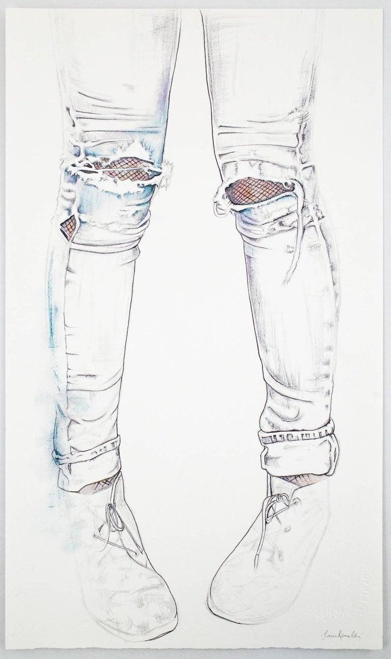 Faded - Contemporary Art by Lauren Rinaldi
