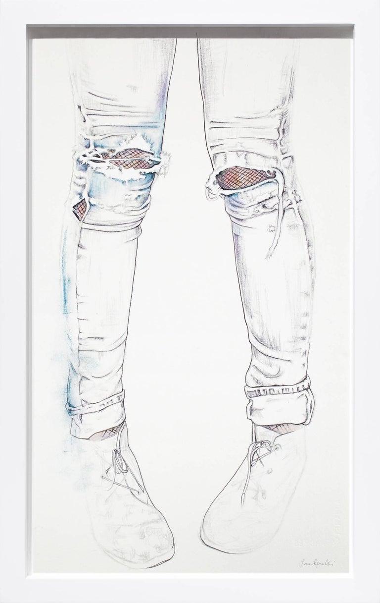 Lauren Rinaldi Figurative Art - Faded