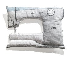 White Elna Sewing Machine