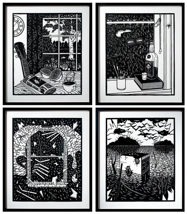 Vanitas: The Deluge - Full Series of Four - Art by Joe Boruchow