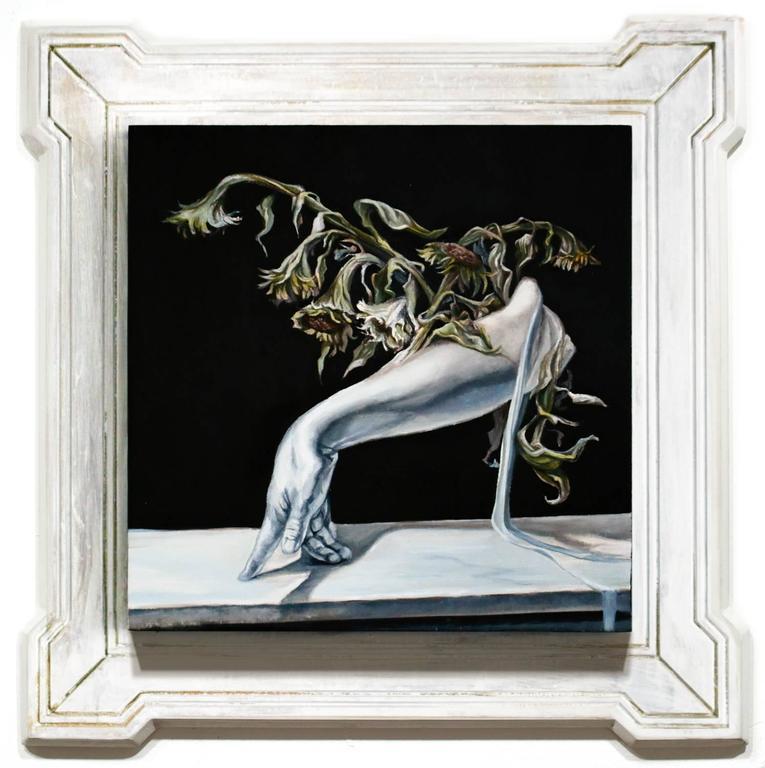 Paul Romano Figurative Painting - The Same Song (Verfallen)