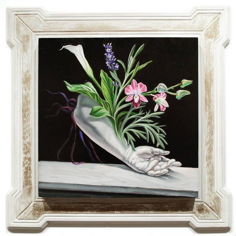 Paul Romano Still-Life Painting - The Same Song (S'épanouir)