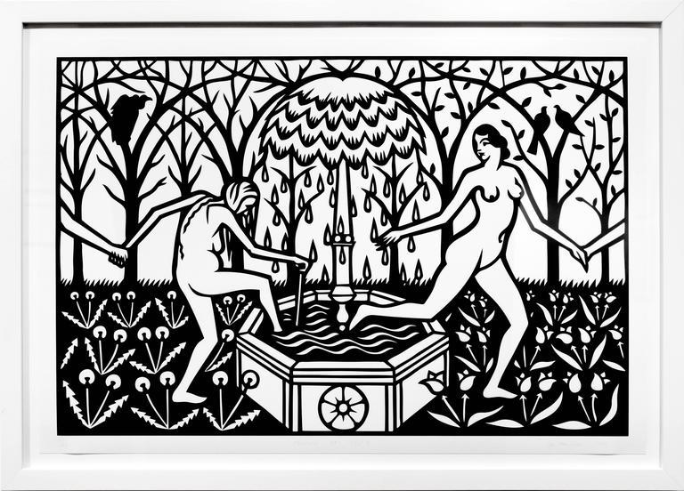 Fountain of Youth (print) - Print by Joe Boruchow