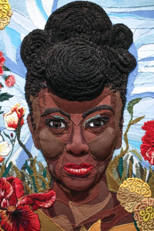 We Should All Be Feminists, inspired by Chimamanda Ngozi Adichie - Contemporary Mixed Media Art by Jess de Wahls