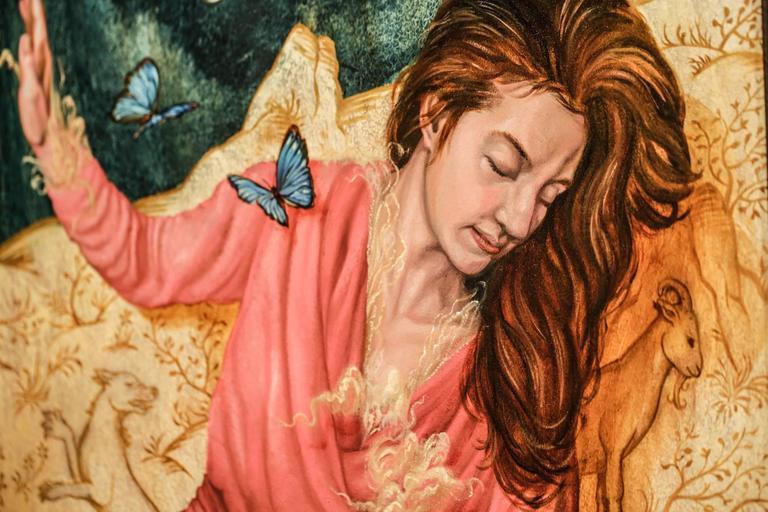 Heroine (Intercessor) - Painting by Paul Romano