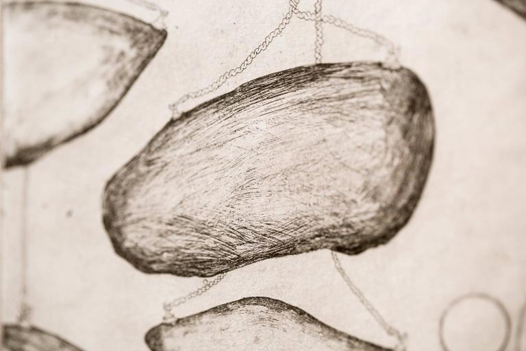 Quarrying - Contemporary Print by Katie VanVliet
