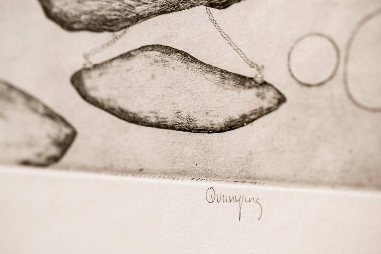 Quarrying - Beige Landscape Print by Katie VanVliet