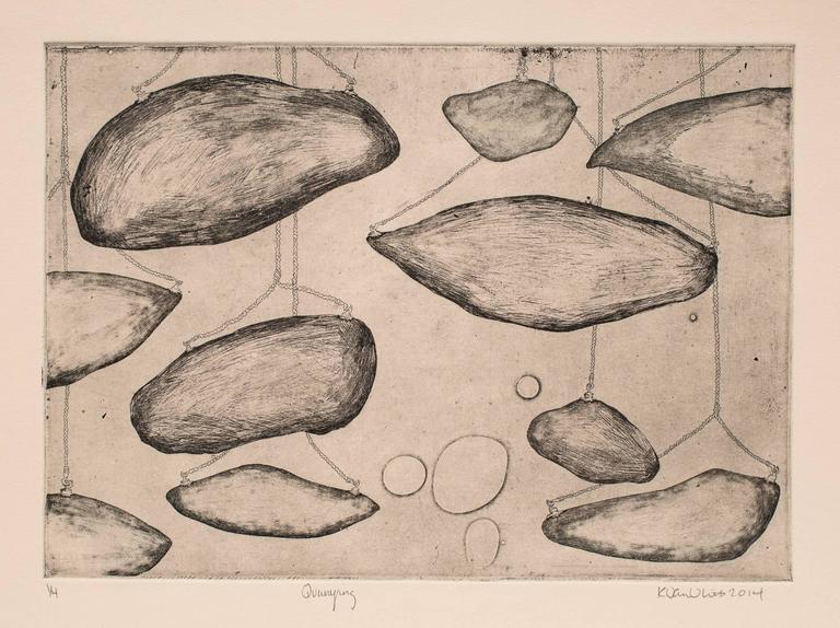 Katie VanVliet Landscape Print - Quarrying