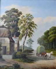 Cottage Scene, Barford nr Warwick England