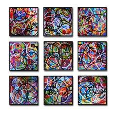Any Colour U Like. Contemporary Quilt