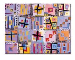 Ice Cold In Alice, Contemporary Quilt