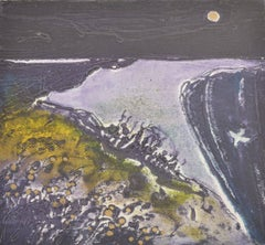 Moonlight In Purple:Contemporary Limited Edition Etching