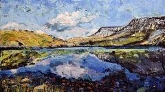 Llyn y Fan Fach, Contemporary Landscape Painting of Wales UK