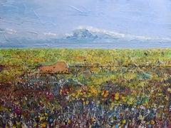 Mynydd Caregog: Contemporary British Landscape Oil Painting