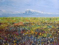 Mynydd Caregog: Contemporary British Landscape Oil Painting
