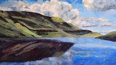 Llyn y Fan Fawr: Contemporary British Landscape Oil Painting