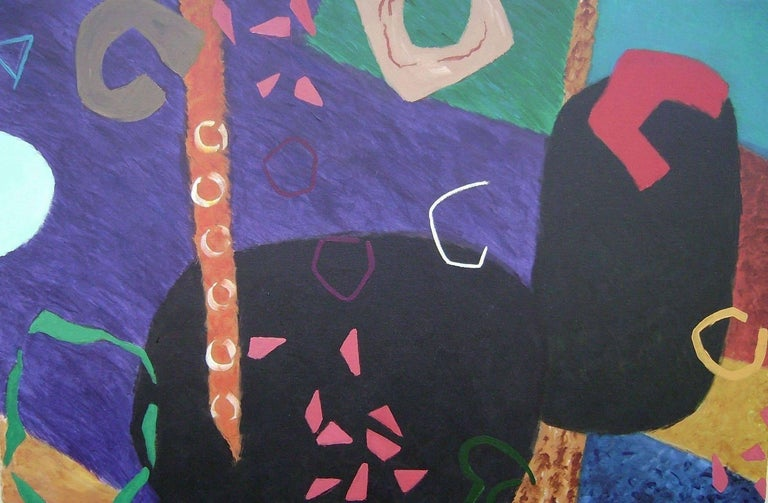 Phillip Alder Abstract Painting - Night Music 3