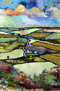 Tivyside: Contemporary British Landscape Oil Painting