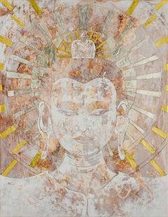 Peace Buddha. Signed Limited Edition Print