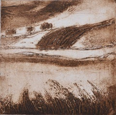 Serpia English Landscape: Contemporary Limited Edition Etching