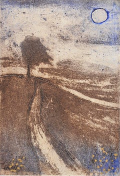 Lonely Road:Contemporary Limited Edition Etching