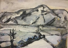 A View From Memory: Abstract Expressionist Contemporary Landscape by Peter Rossi