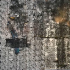 Harbour: Mixed Media Contemporary Painting by Peter Rossiter