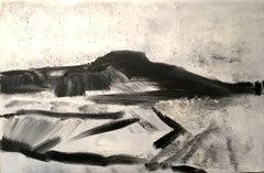 Pembrokeshire Landscape: Abstract Expressionist Contemporary Landscape