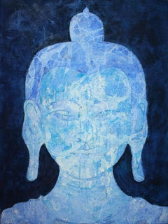 Blue Crystal Maitreya