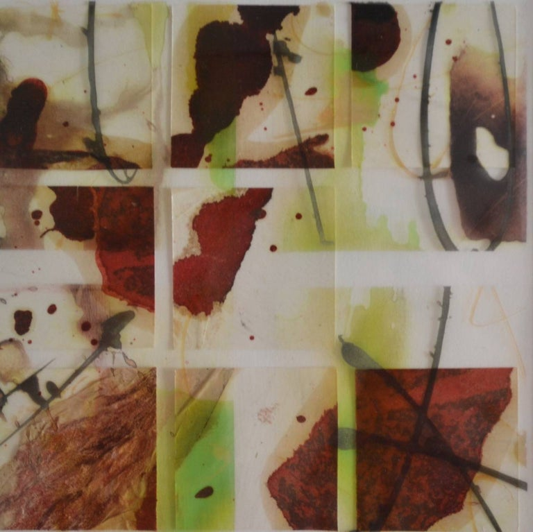 Caro Woods Abstract Drawing - Tectonic V