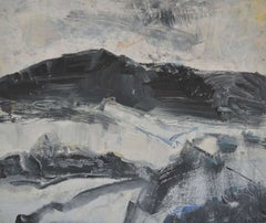 New Black & White: Abstract Expressionist Contemporary Landscape