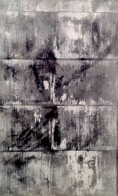 Air Filter I: Mixed Media Contemporary Painting by Peter Rossiter